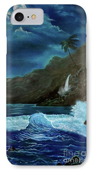 Moonlit Wave IPhone Case