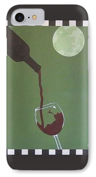 Moonlit Wine IPhone Case