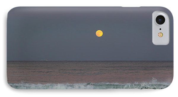 IPhone Case featuring the photograph Moonrise At Sunset by Michelle Wiarda