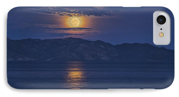 Moonrise IPhone Case by Christian Heeb
