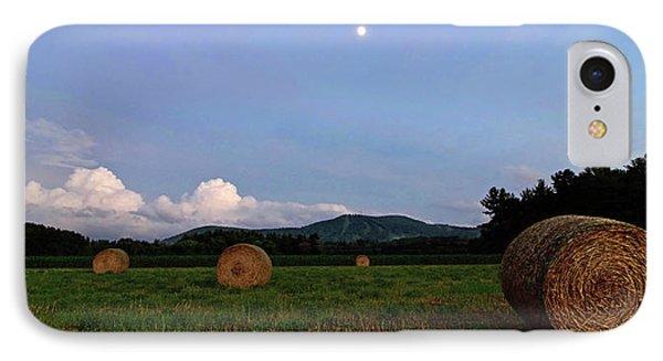 Moonrise Hayfield IPhone Case