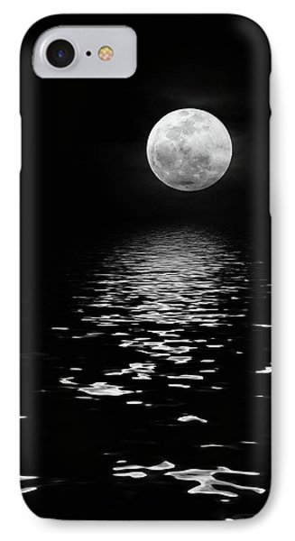 Moonrise Over The Atlantic IPhone Case by Dawn Currie