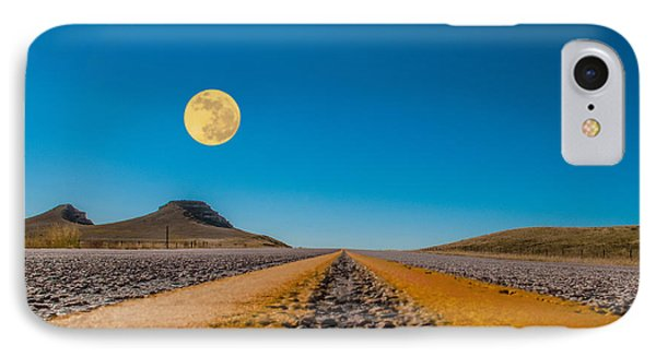 Moonrise Wyoming IPhone Case