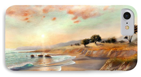Moonstone Beach California IPhone Case by Michael Rock