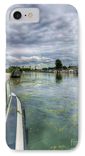 Moored At The Marina IPhone Case