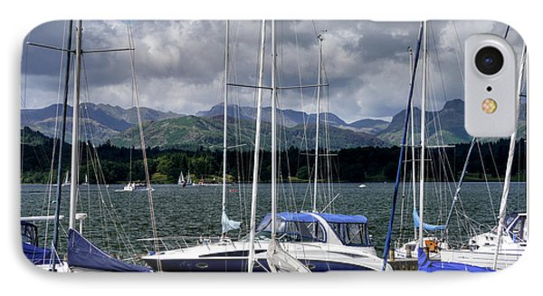 Moored In Beauty IPhone Case