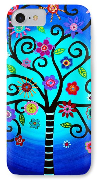 IPhone Case featuring the painting Moore's Tree Of Life by Pristine Cartera Turkus