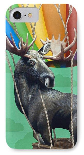 Moose De Rozier IPhone Case