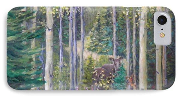 Moose Encounter IPhone Case