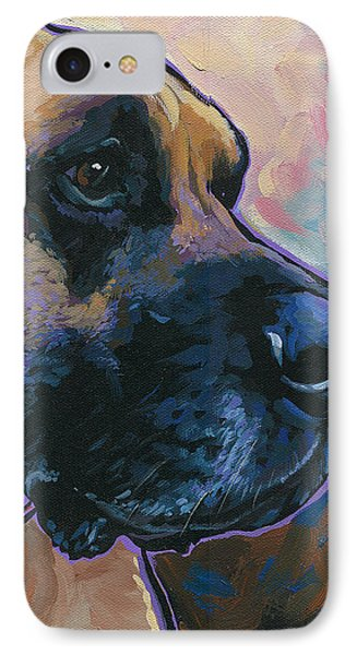 Moose IPhone Case by Nadi Spencer
