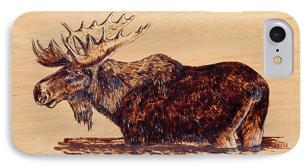 Moose IPhone Case by Ron Haist