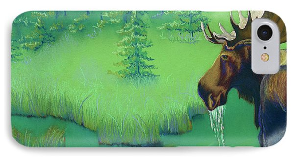 Moose Phone Case by Tracy L Teeter