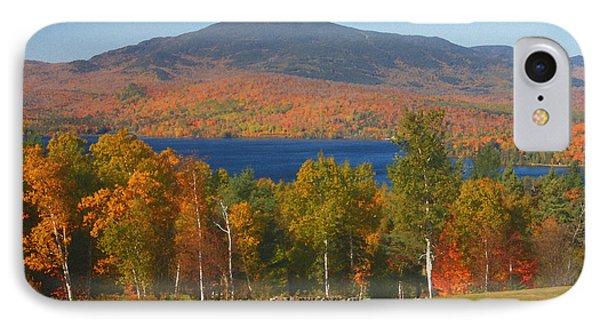 Moosehead Lake In Autumn IPhone Case by John Burk