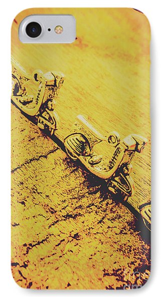 Moped Parking Lot IPhone Case by Jorgo Photography - Wall Art Gallery