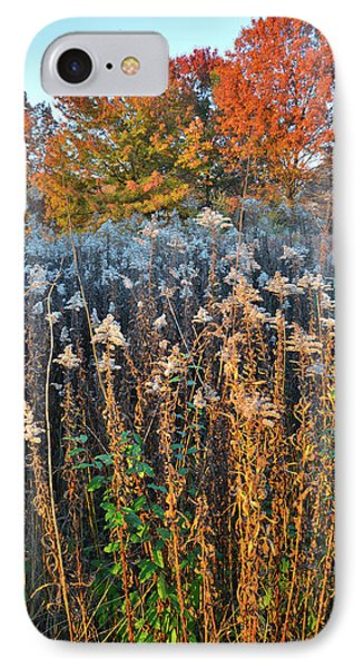 IPhone Case featuring the photograph Moraine Hills Fall Colors by Ray Mathis