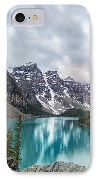 Moraine In The Summer IPhone Case by Jon Glaser