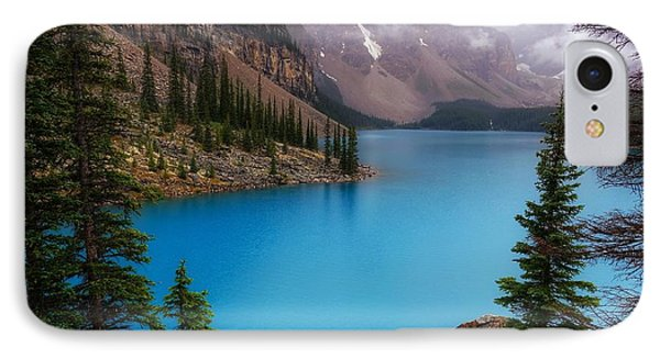 Moraine Lake IPhone Case by Heather Vopni