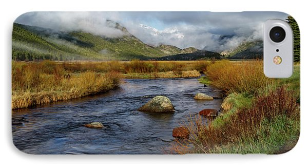 Moraine Park Morning - Rocky Mountain National Park, Colorado IPhone Case