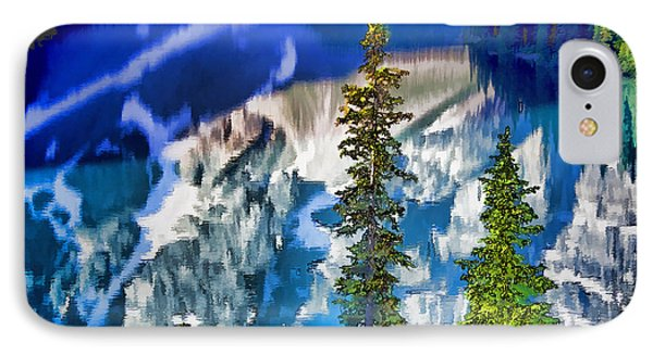 Moraine Reflections Phone Case by Dennis Cox WorldViews
