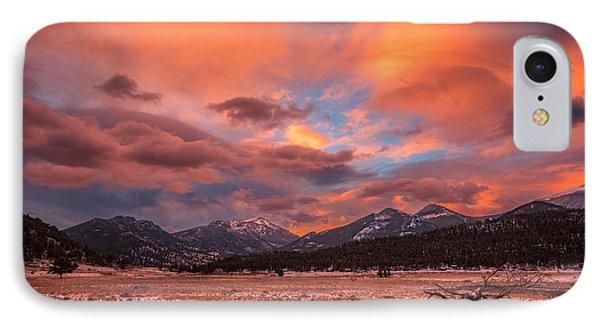 Morain's Sunrise IPhone Case by Darren White