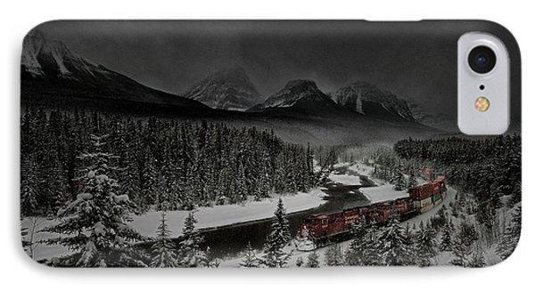 Morant's Curve - Winter Night IPhone Case by Brad Allen Fine Art