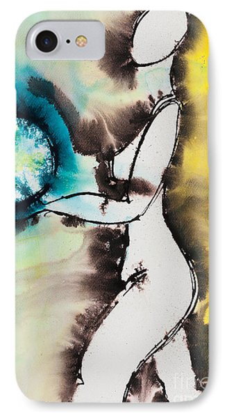 More Than Series No. 2049 IPhone Case by Ilisa Millermoon