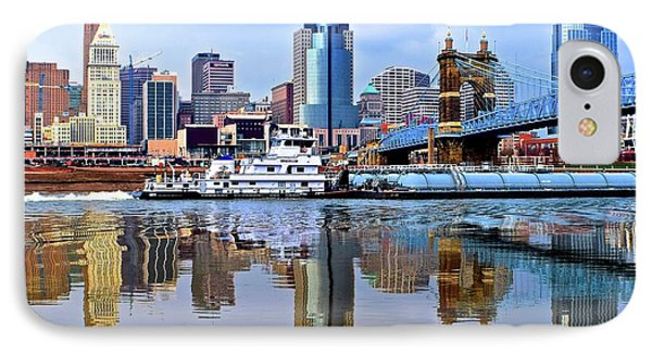 More Waterfront Traffic IPhone Case by Frozen in Time Fine Art Photography
