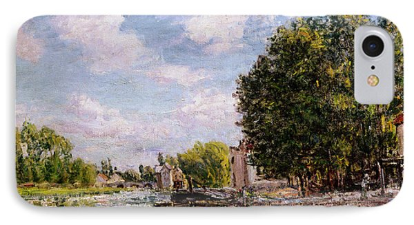 Moret-sur-loing Phone Case by Alfred Sisley