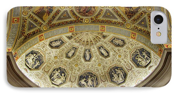 IPhone 7 Case featuring the photograph Morgan Library Rotunda by Jessica Jenney
