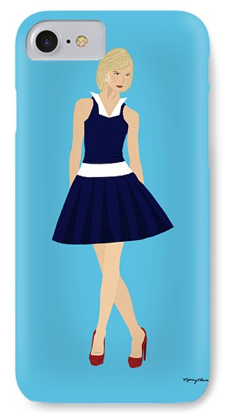 IPhone Case featuring the digital art Morgan by Nancy Levan
