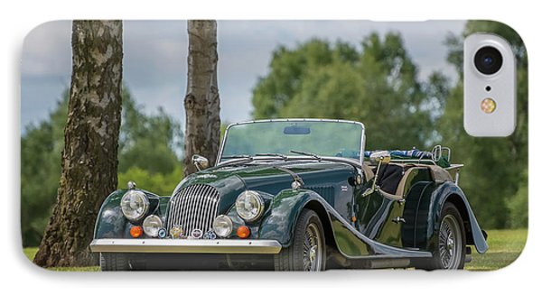 IPhone Case featuring the photograph Morgan Sports Car by Adrian Evans