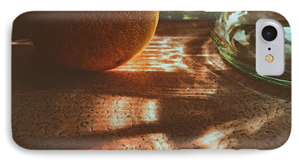 IPhone Case featuring the photograph Morning Detail by Steven Huszar