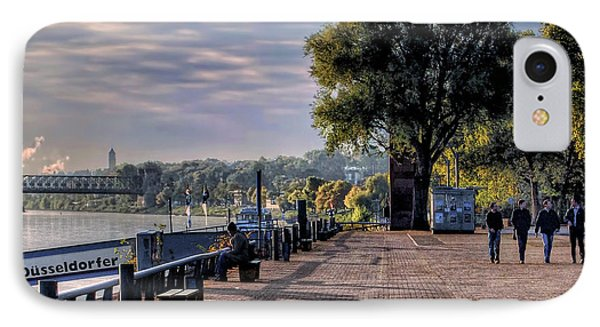 IPhone Case featuring the photograph Morning Along The Rhine by Jim Hill