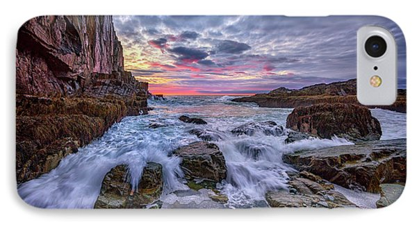 Morning At Bald Head Cliff IPhone Case by Rick Berk