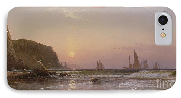 Morning At Grand Manan Phone Case by Alfred Thompson Bricher