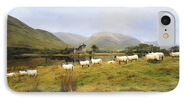 Morning At Kilchurn IPhone Case by Roy  McPeak