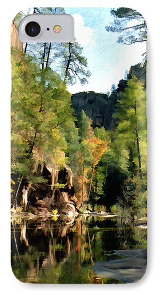 Morning At Oak Creek Arizona Phone Case by Kurt Van Wagner