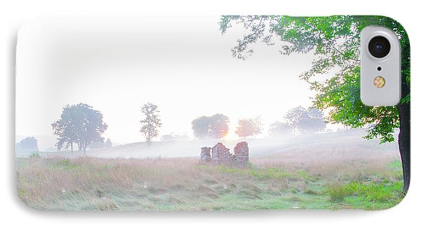 Morning At The Philadelphia Cricket Club - Flourtown Pa IPhone Case by Bill Cannon