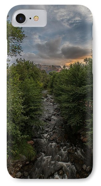 Morning Beauty Of Oak Creek IPhone Case by A O Tucker