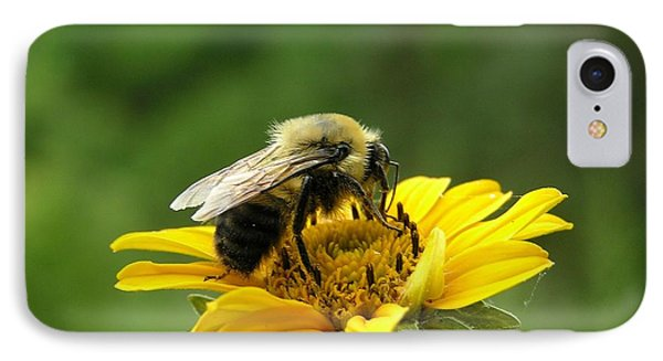 Morning Bee IPhone Case by Susan  Dimitrakopoulos