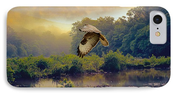 Morning Buzzard IPhone Case by Roy  McPeak