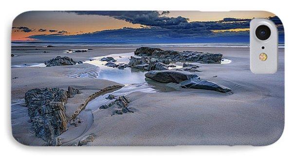 Morning Calm On Wells Beach IPhone Case by Rick Berk
