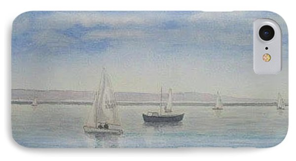 'morning Calm' - West Kirby Marine Lake Phone Case by Peter Farrow