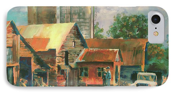Morning Conference Phone Case by Carol Strickland