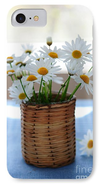 Morning Daisies IPhone Case by Elena Elisseeva