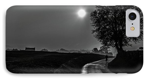 Morning Dew Bw IPhone Case