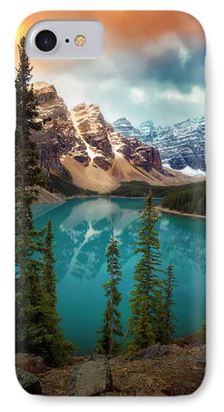 Morning Eruption  IPhone Case by Nicki Frates