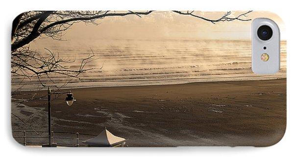 Morning Filey Beach Phone Case by Svetlana Sewell