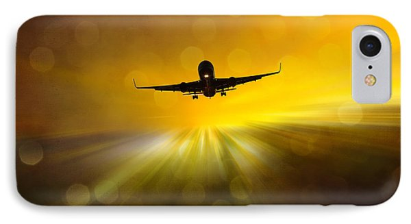 IPhone Case featuring the photograph Morning Flight by Chris Armytage
