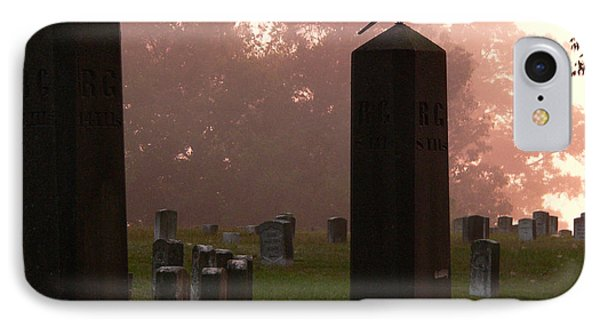 Morning Fog Along The Tennessee Phone Case by David Bearden